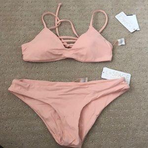 2 piece bikini BNWT pink